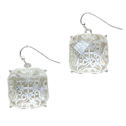 Icy Celtic Earrings