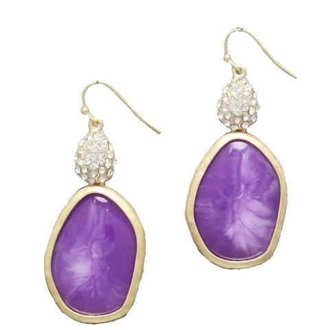 Purple Wonder Earrings