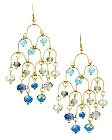 Rainforest Sprinkles Chandelier Earrings