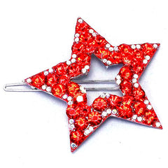 Red Star Barrette