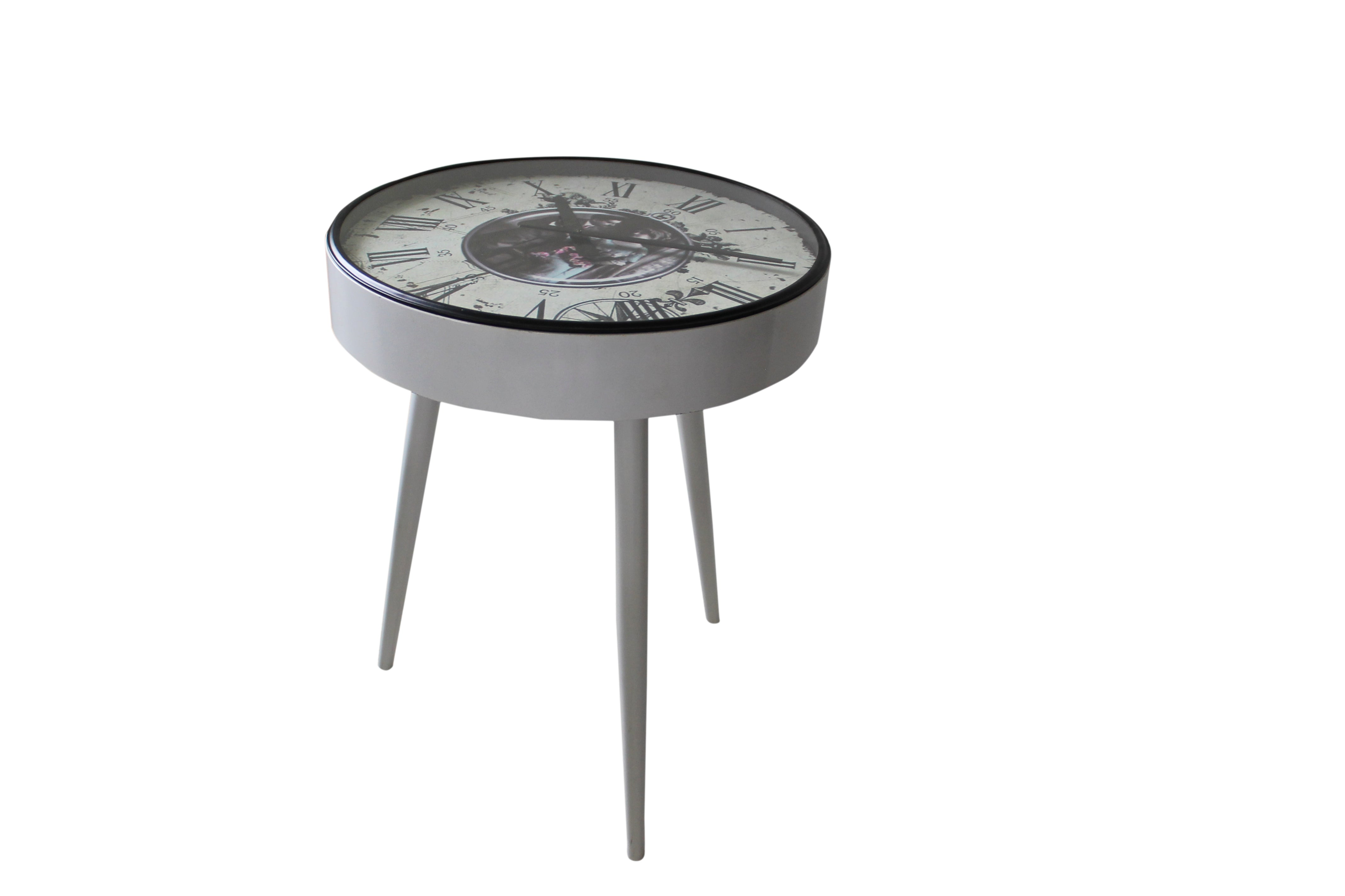 Iron Side Table Clock $419.99