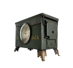 Upcycled Army Tool Box Clock $203.99