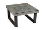 Wooden Coffee Table with Clock $1,019.99