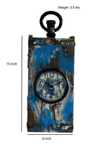 Upcycled Brick Mold Clock in Antique Finish $98.99