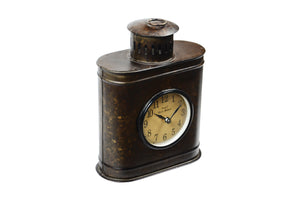 Upcycled Iron Container Clock (FS-1456)