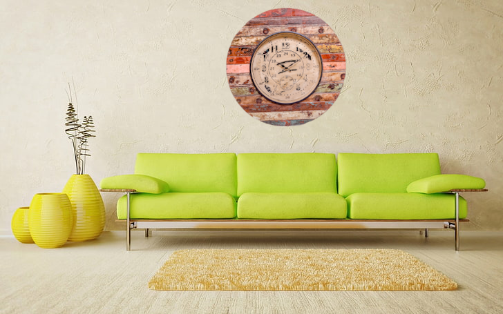 Upcycled Wooden Clock with Seconds Dial $589.99
