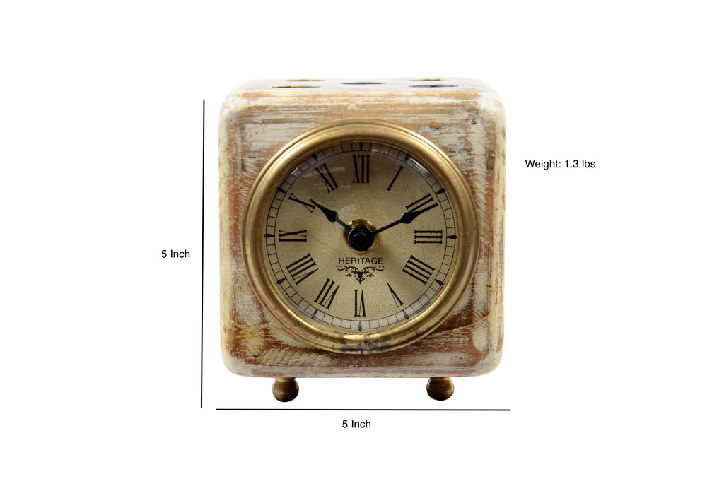 Dice Shaped Clock $86.99