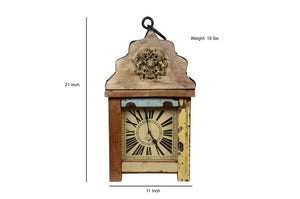Upcycled Wooden Lantern 3-Sided Clock $459.99