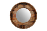 Upcycled Old Teak Wood Mirror (HH-015)