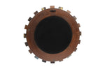 Round Reclaimed Wood Mirror (MR-001)