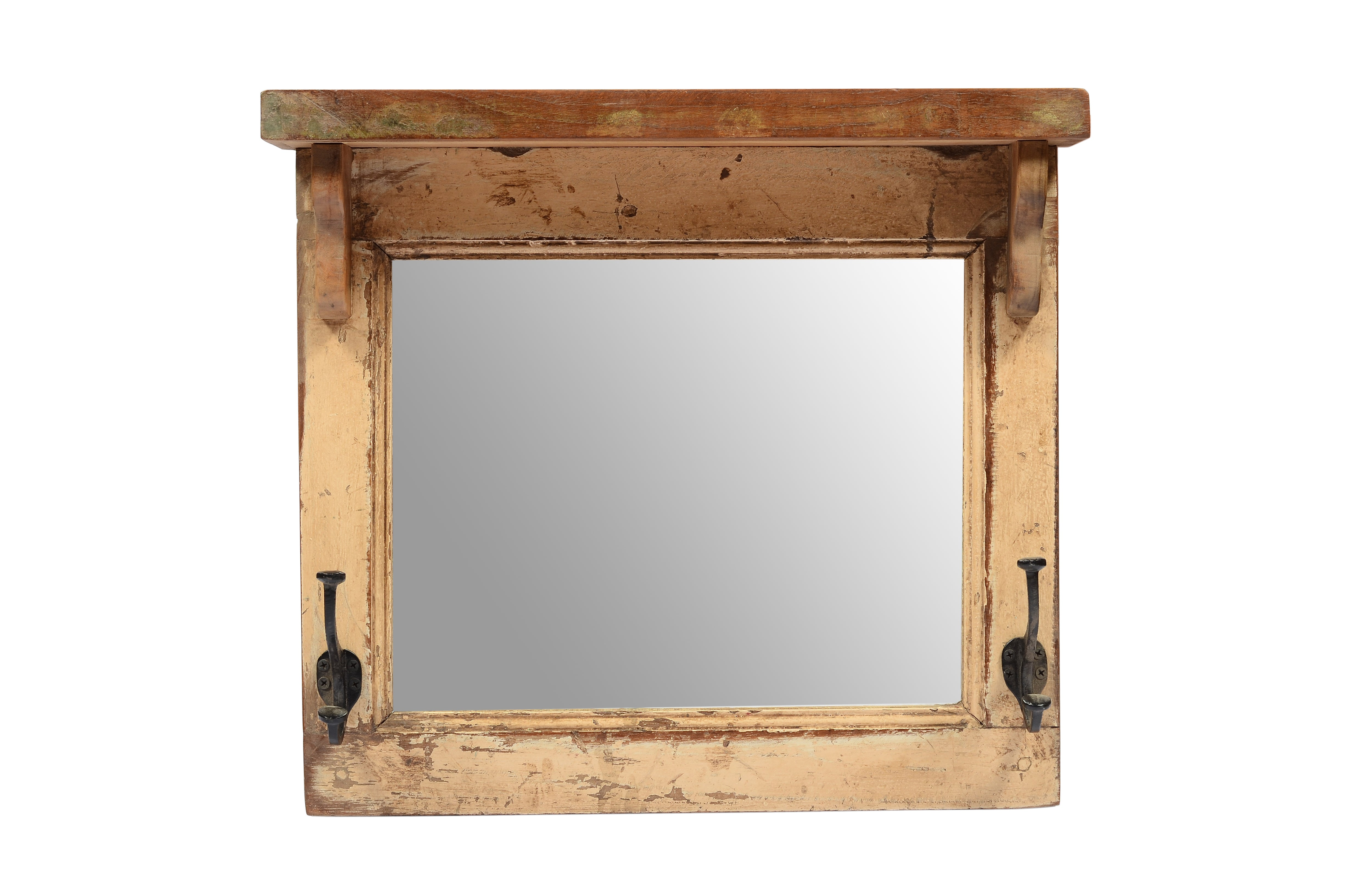 Upcycled Old Window Mirror (MR-002)