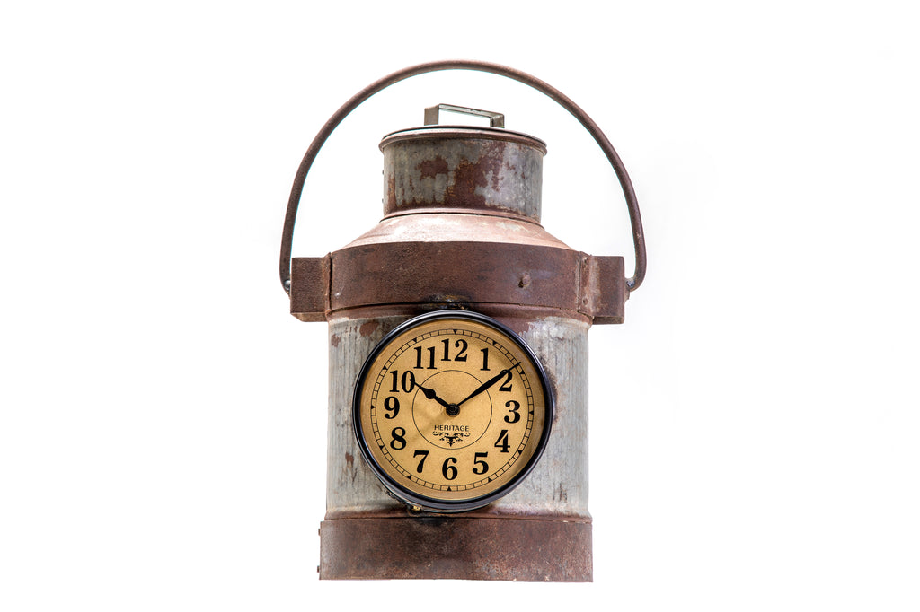 Upcycled Milk Container Clock (FS-1912)