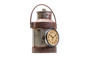 Upcycled Milk Container Clock $223.99