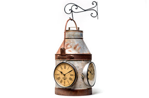 Upcycled Old 3-Sided Milk Container Clock $364.99