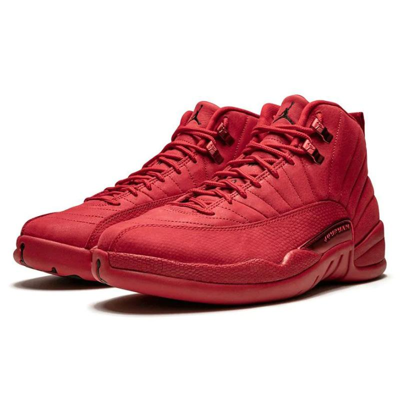 "Air Jordan 12 Retro ""Bulls , Black Friday/Gym Red"" Sneakers 