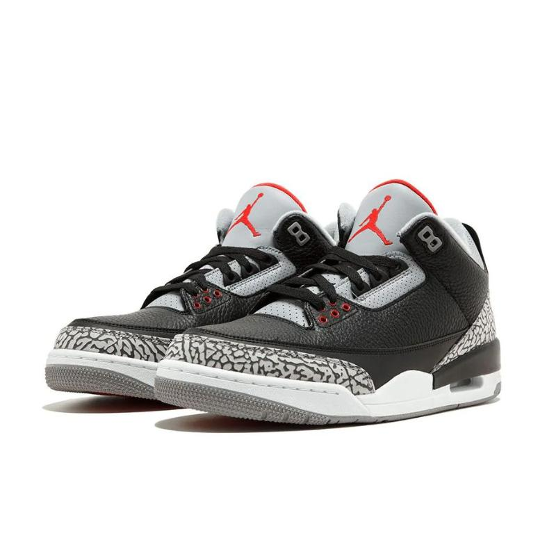 "Air Jordan 3 Retro ""OG black/cement"" Sneakers 