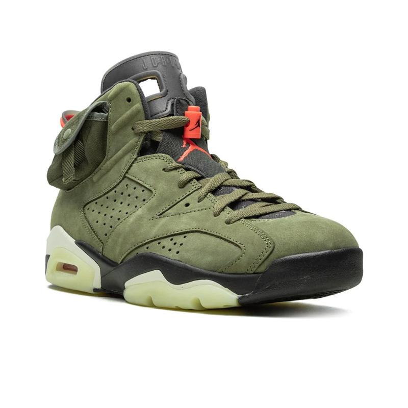 "Air Jordan 6 Retro ""cactus jack -Travis Scott"" Sneakers 