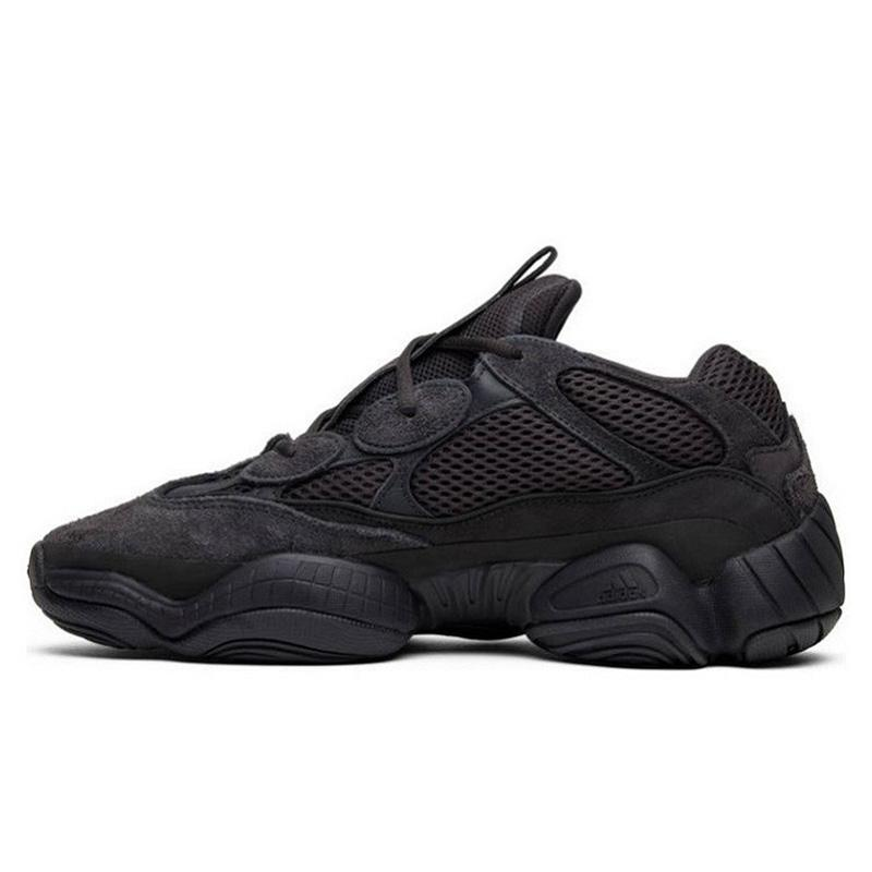 "Fake Yeezy Boost 500 ""Utility Black"" Men's Sneakers 