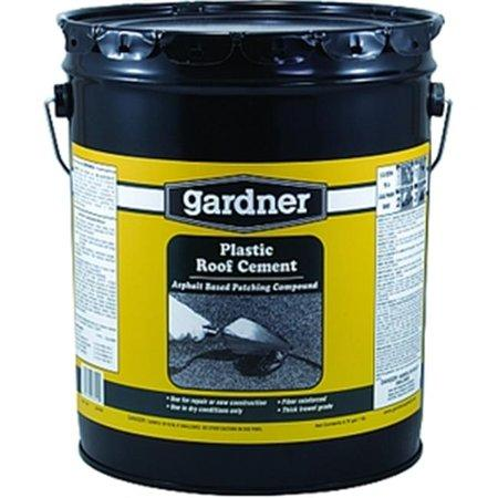 0345 Plastic Roof Cement 5 Gallon Roofing Gardner