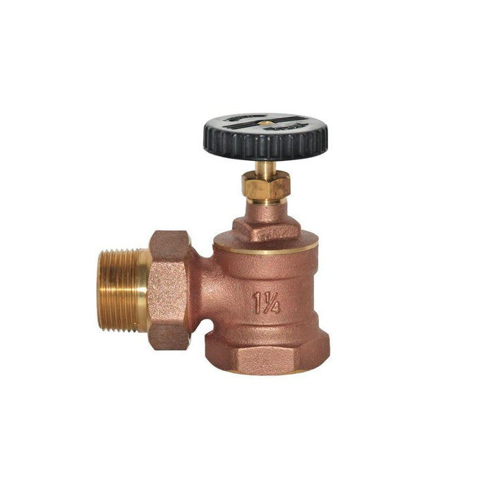 1-1/4'' Brass Radiator Angle valve Other Plumbing Wal-Rich