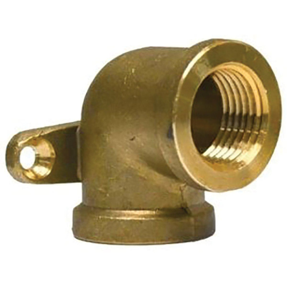 1/2'' Brass Drop Ear Elbow Left Other Plumbing Wal-Rich