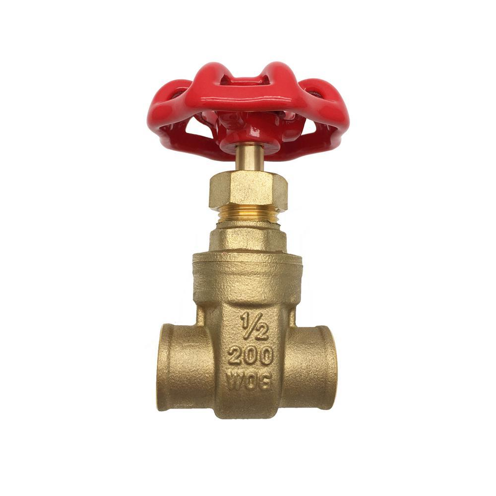 1/2'' Copper Gate Valve Other Plumbing Aqua Plumb