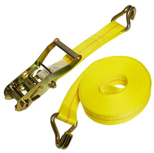 "Ratchet Strap 27' x 2"" J-Hook 10,000 LBS"
