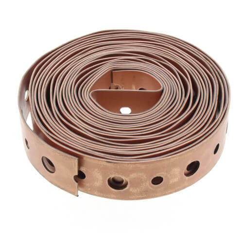 3/4'' 10' Band Iron Copperized 22g Other Plumbing Wal-Rich