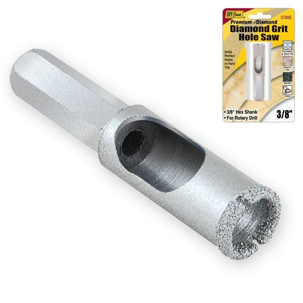 "3/8"" Diamond Grit Hole Saw Hole Saws Ivy Classic"