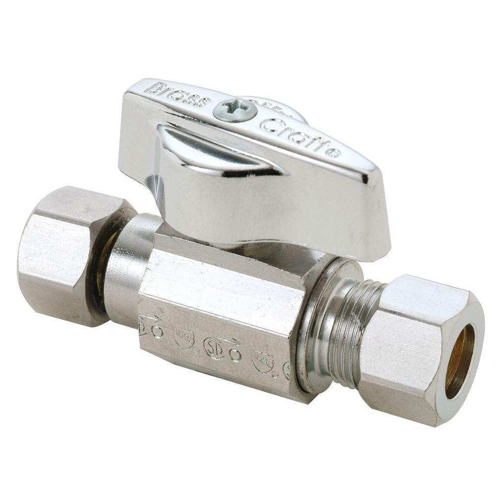 3/8'' F.Swivel x 3/8'' OD Comp. Repair Valve 1/4 Turn Ball Type Other Plumbing Altium Supply Co.