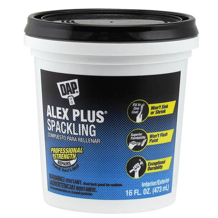 Alex Plus High Performance Spackling Paste Drywall Dap