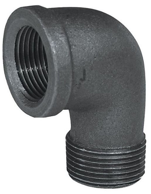 Black Iron ST Elbow 90° Black Iron Fitting Altium Supply Co.
