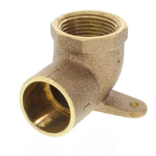 Brass CxF Drop Elbow 90° Brass Fitting Altium Supply Co.