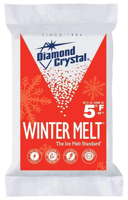 Cargill Diamond Crystal Winter Melt Rock Salt Outdoors Cargill