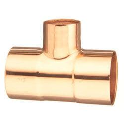 Copper CxC Reducing Tee Copper Fitting Altium Supply Co.