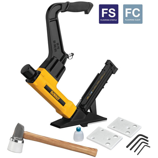 Flooring Nailer 2-in-1 Pneumatic 15.5 Gauge and 16 Gauge