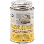 Clear Cleaner 1/4 Pint