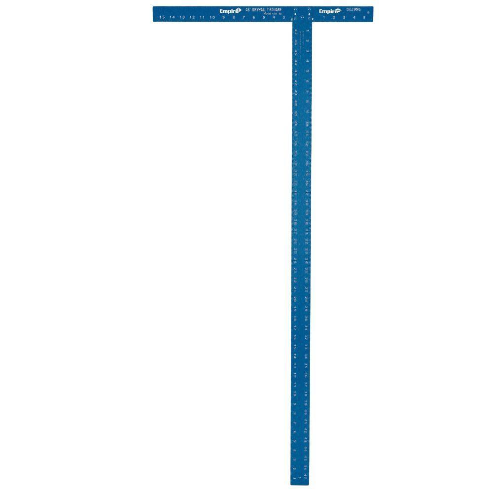 Empire Level 48 in. Drywall T-Square Hand Tools Empire Level