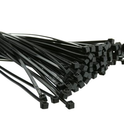 "G-Force 100 Pk 8"" Nylon Black Cable Ties Accessories Pacoa"