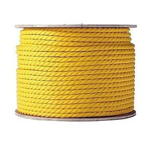 "G-Force 1/2"" x 100' Yellow Twisted Poly Rope Accessories Pacoa"