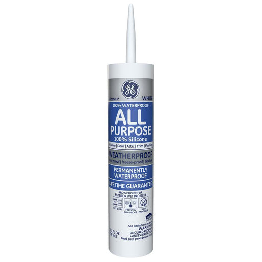 GE Silicone I All Purpose Sealant Caulking & Sealants GE