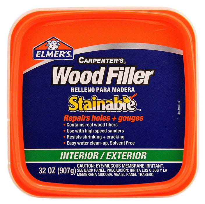 Interior/Exterior Stainable Wood Filler Lumber & Plywood Elmer's