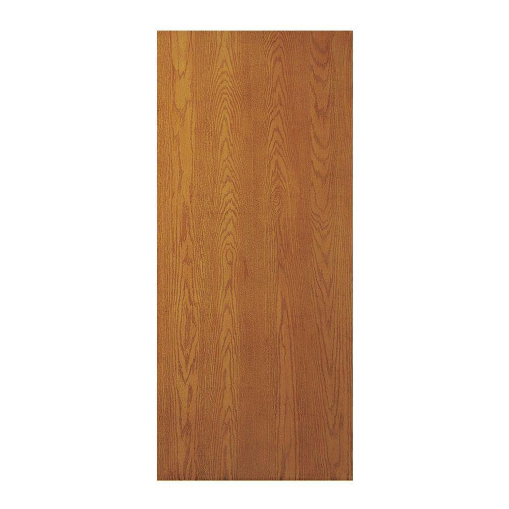Jeld-Wen Unfinished Smooth Flush Oak Hollow Core Slab Door Doors Jeld-Wen