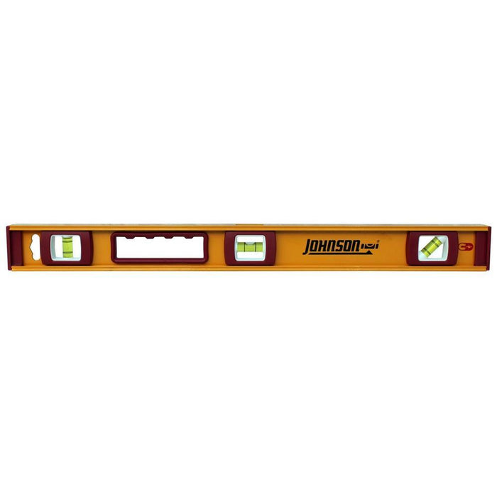 Johnson Level 24 in. Heavy Duty Magnetic Aluminum Level Hand Tools Johnson Level