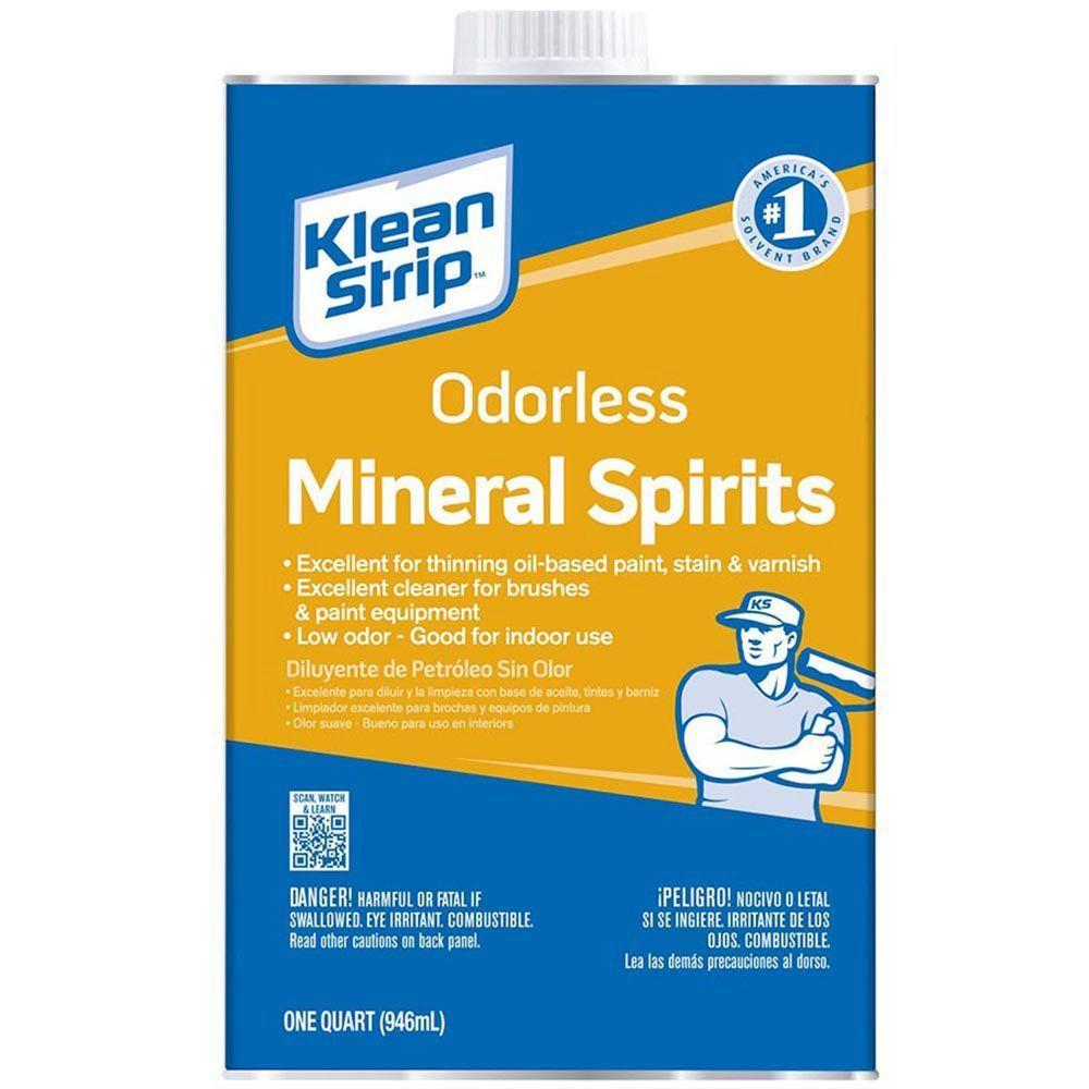 Klean Strip Odorless Mineral Spirits Thinner Klean Strip