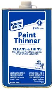 Klean Strip Paint Thinner 1 Qt. Thinner Klean Strip