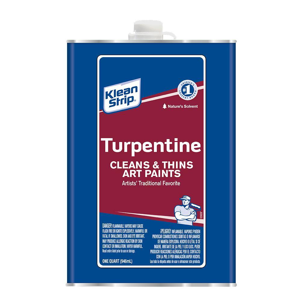 Klean Strip Pure Gum Spirits Turpentine Thinner Klean Strip