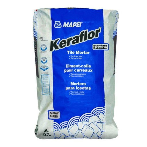 Mapei Keraflor Thin Set Tile Mortar 50LB Cement & Masonry Altium Supply Co.