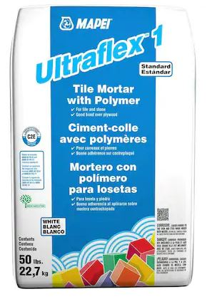 Mapei Ultraflex 1 Tile Mortar 50LB Cement & Masonry Altium Supply Co.
