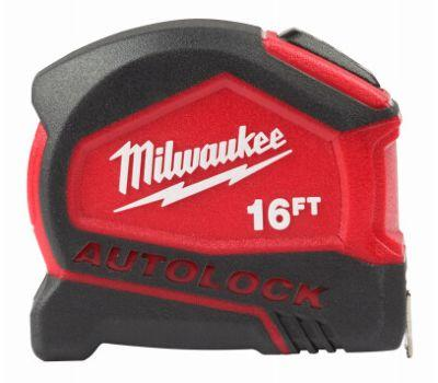 Milwaukee Tape Measure Autolock 16 Ft Hand Tools Milwaukee